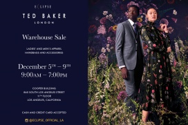 44eabf2c3 Ted Baker sample sales in California