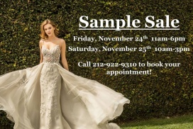Blue By Enzoani Sample Sales In New York